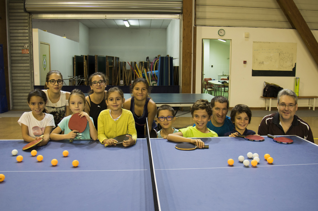 2017 stage d 39 t jeunes n 2 ping pong club de p rols tennis de table - Leclerc table de ping pong ...
